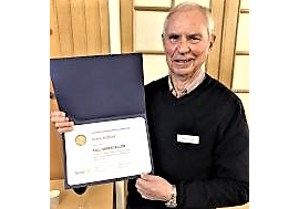 Svein Milford ble tildelt Paul Harris Fellow Recognition